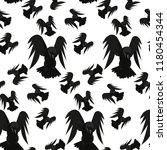 vector illustation with black... | Shutterstock .eps vector #1180454344