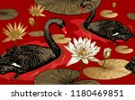 Seamless Pattern With Birds...