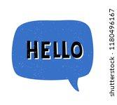 hello   vintage style...   Shutterstock .eps vector #1180496167