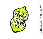 cartoon lime | Shutterstock .eps vector #118049797