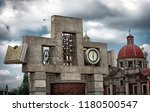 bell tower and clock of the... | Shutterstock . vector #1180500547
