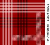 red black and white tartan...   Shutterstock .eps vector #1180540021