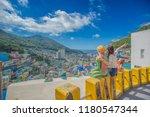 busan  korea  august 30  2018 ... | Shutterstock . vector #1180547344