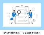 multi tasking. business concept ... | Shutterstock .eps vector #1180559554