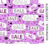 seamless. sale banner template... | Shutterstock .eps vector #1180578574