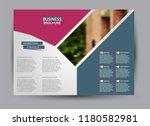 flyer  brochure  billboard... | Shutterstock .eps vector #1180582981