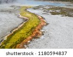 pinwheel geyser displaying a...   Shutterstock . vector #1180594837