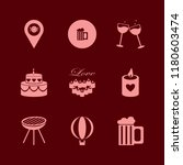 party icon. party vector icons... | Shutterstock .eps vector #1180603474