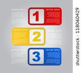 Header design elements . Vector EPS 10 - stock vector