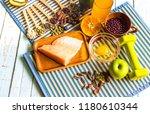 healthy eating of ketogenic... | Shutterstock . vector #1180610344