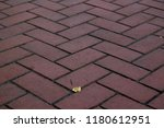 cobble stone pavement surface... | Shutterstock . vector #1180612951