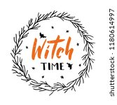 Witch Time   Hand Lettering....