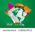 world food day food day... | Shutterstock .eps vector #1180629511