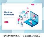 modern flat design isometric... | Shutterstock .eps vector #1180639567