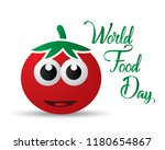 world food day food day... | Shutterstock .eps vector #1180654867