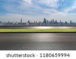 panoramic skyline and modern...   Shutterstock . vector #1180659994