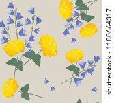 seamless vector illustration... | Shutterstock .eps vector #1180664317