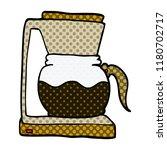 cartoon doodle coffee machine | Shutterstock . vector #1180702717