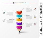 infographic design template....   Shutterstock .eps vector #1180704421