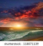 Folly Beach Ocean Sunset...