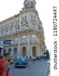 havana  cuba on september 09 ... | Shutterstock . vector #1180724497