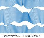 waves seamless pattern  vector... | Shutterstock .eps vector #1180725424