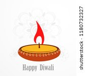 deepavali celebration ... | Shutterstock .eps vector #1180732327