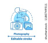 photography concept icon. photo ... | Shutterstock .eps vector #1180749511