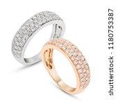 diamond micro pave eternity...   Shutterstock . vector #1180753387