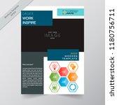 business annual report brochure ...   Shutterstock .eps vector #1180756711