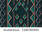 seamless relief sculpture... | Shutterstock .eps vector #1180783504