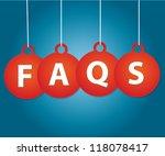 faqs tag vector   Shutterstock .eps vector #118078417