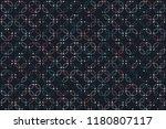 beautiful geometric pattern... | Shutterstock .eps vector #1180807117
