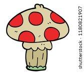 Cartoon Doodle Toadstool