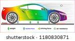 resultant force physics  | Shutterstock .eps vector #1180830871