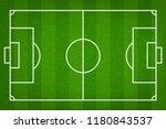 football field or soccer field...   Shutterstock .eps vector #1180843537