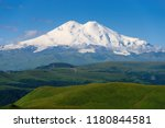 great nature mountain range.... | Shutterstock . vector #1180844581