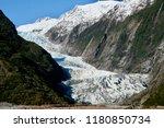 franz josef glacier on the...   Shutterstock . vector #1180850734