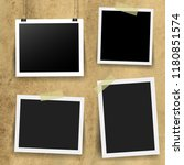 photo frame collection with... | Shutterstock .eps vector #1180851574