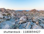 dusk in the porcupine wash... | Shutterstock . vector #1180854427