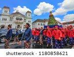 yogyakarta  indonesia   august...   Shutterstock . vector #1180858621