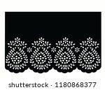vintage lace cotton vector... | Shutterstock .eps vector #1180868377