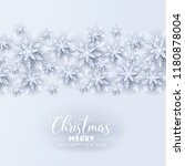 merry christmas party... | Shutterstock .eps vector #1180878004