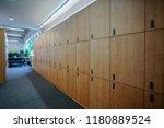 interior of a locker changing... | Shutterstock . vector #1180889524