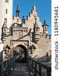 schloss lichtenstein castle... | Shutterstock . vector #1180945681