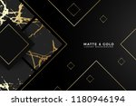 luxury golden marble background | Shutterstock .eps vector #1180946194