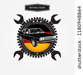 car of germany icon | Shutterstock .eps vector #1180948864