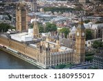 palace of westminster in london | Shutterstock . vector #1180955017