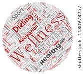 vector conceptual healthy... | Shutterstock .eps vector #1180973257