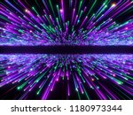 3d render  big bang  galaxy...   Shutterstock . vector #1180973344